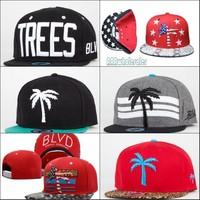 Brand BLVD Supply soulja snapback caps fashion flower snapbacks hats mens womens baseball cap hip hop sports floral hat cheap