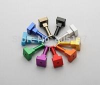 clothing hanger, cabinet hook, wardrobe hanger,  Aluminum alloy colorful 10pcs/package