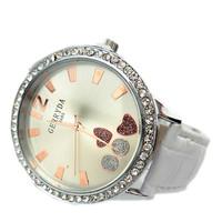 Simple soulmate female form diamond ladies watch fashion watch wholesale multicolor belt 685