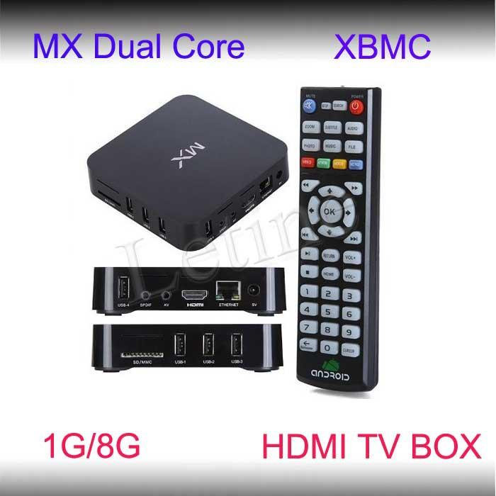 XBMC Best Android 4.2 OS Net Super Smart Tv Box AML8726-MX Mali-400 Build-in Wifi 2GB/8GB nAND Flash 1080P HDMI 2014 New(China (Mainland))