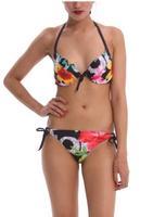 2014  Summer Bikinis Set  Women Bikinis Set  Print  Sexy  Push-Up Padded Top Plus Size Swimsuit  Print Swimwear DG075