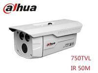 Free shipping DaHua 750TVL 1 / 3 CCTV camera IR 50 m Infared Bullet camera  CCTV IP66 outdoor and waterproof camera