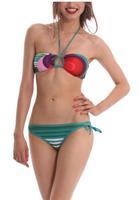 22014  Summer Bikinis Set  Women Bikinis Set  Print  Sexy  Push-Up Padded Top Plus Size Swimsuit  Print Swimwear DG076