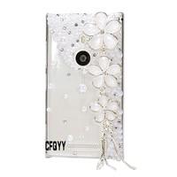 3D Handmade Luxury Diamond Pearl Cover Case for Nokia Lumia 925