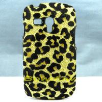 1 Pcs Fashion Bling Leopard Hard Back Case Cover For Samsung Galaxy S3 Mini i8190
