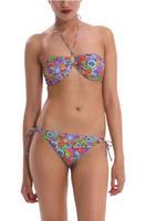 2014  Summer Bikinis Set  Women Bikinis Set  Print  Sexy  Push-Up Padded Top Plus Size Swimsuit Geometric   Print Swimwear DG080