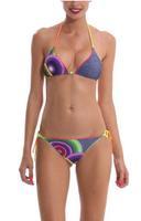 2014 Summer Bikinis Set Women Bikinis Set Print Sexy Push-Up Padded Top Plus Size Swimsuit Geometric Print Swimwear DG079