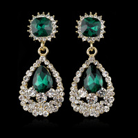 Such A Beautiful Rhinestone Earrings Exclusive For Evening Dress Fashion In Jewelry