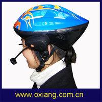 Free shipping !!! 500M intercom wireless bicycle helmet headset built in fm radio/wireless bluetooth bicycle helmet headset