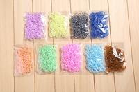 DIY bracelet loom Rubber Band petal design, Loom Bands Refill, (600 bands+24S-Clips each pack) kids gift