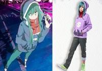 Kagerou Project  MekakuCity Actors Tsubomi Kido Cosplay Costume Hoodie Sweater Pants
