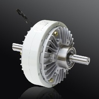 Machinery Parts 200N.m two shafts re-reeling machine tension control brake electro magnetic powder clutch brake