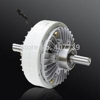Machinery Parts 200N.m two shafts electro magnetic powder clutch brake re-reeling machine tension control brake