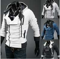 New coats men outwear Mens Special Hoodie Jacket Coat men clothes cardigan style jacket free shipping