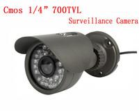 Home Security Surveillance Camera 700TVL 30 pcs blue LED IR night vision Indoor/outdoor Security CCTV Camera Free shipping