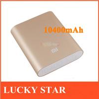 External Battery Pack original xiaomi power bank 10400mAh xiaomi 10400 portable powerbank Charger for xiaomi hongmi M1 M2