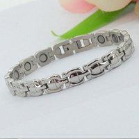 Men Love Stainless Steel Silver Bracelet