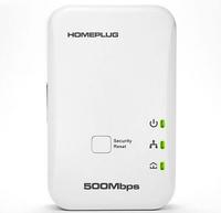Freeshipping New 500M PoMini Homeplug AV Ethernet Adapter 500M Electrolines A Pair Adapter Iptv Network Card Dropshipping