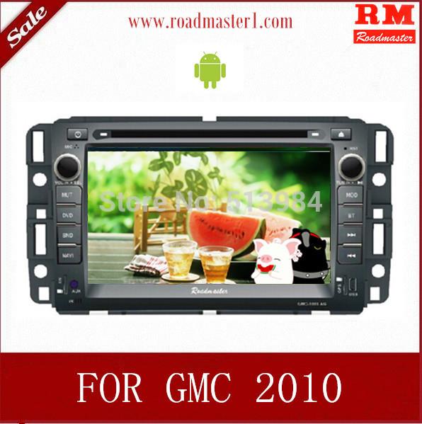 Pure Android Car DVD for GMC Yukon / Acadia / Sierra with GPS Navigation Radio ipod bluetooth(China (Mainland))