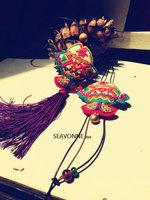 SEAVONNE fashion necklaces for women 2014 fish Ethnic handmade necklace statement necklace long necklace pendant necklace