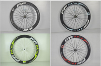 Free shipping 60mm road bike carbon wheels Carbon wheelest clincher Carbon bike parts