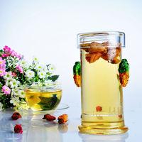 220ML glass kettle suitable for black tea herbal tea and flower tea, simple and nice, enjoy your tea time
