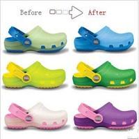 Children Garden Shoes Kids Cayman Beach Sandals Discoloration Shoes Free Ship