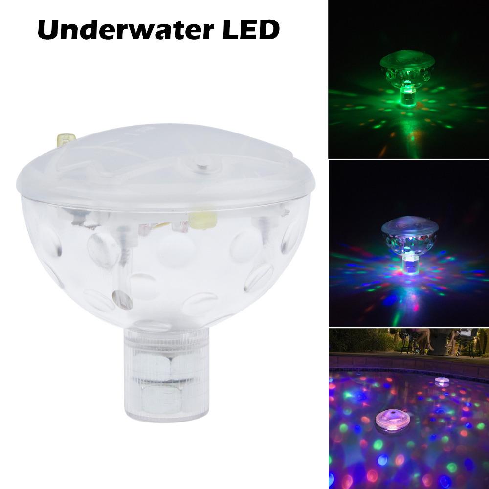 6V 3AAA Underwater LED Aquarium Light Show for Pond Spa Hot Tub Disco LED Swimming Pool Light Freeshipping(China (Mainland))