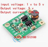 free shipping  50PCS DC-DC step-up module (1V-5V) L 5V Boost plate 5V output