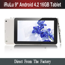 U.S Stock 50 Pieces/ lot  9″ Inch Tablet PCs Dual Core CPU Allwinner A20 16G  ROM Android 4.2  3G Tablet PC