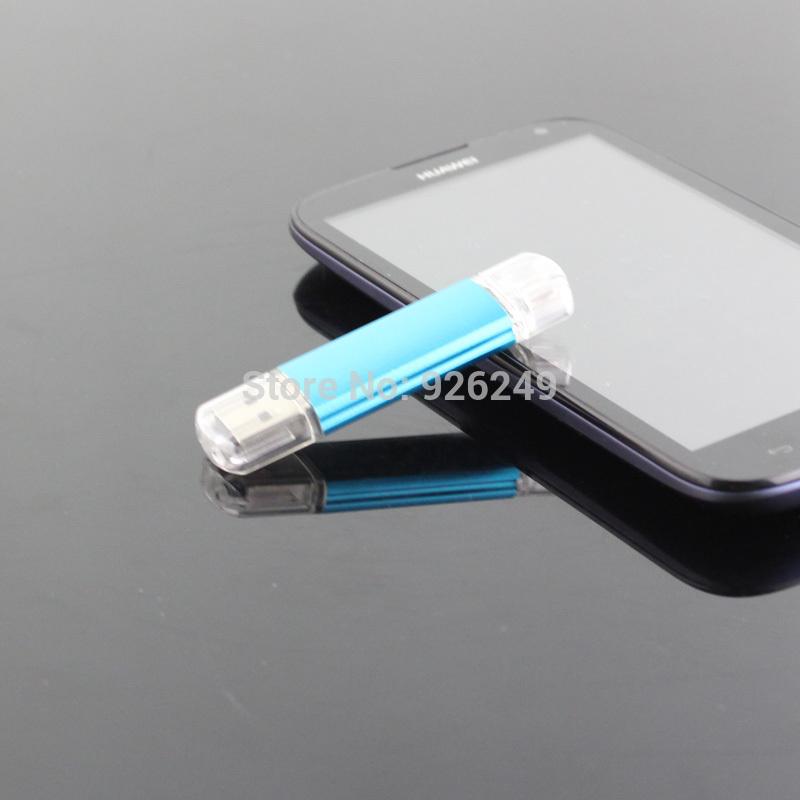 New 2014 64GB USB Flash Drive Pen Drive Pendrive OTG external storage Smart Phone Memory Card Stick Free Shipping(China (Mainland))