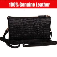 New Arrival100% Genuine Leather Handbag, Day Clutches Shoulder bag Messenger Bag Fashion day clutches wallets Evening Bag YD-405