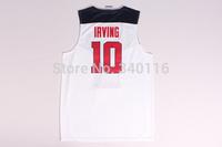FREE SHIPPING! #10 Irving 2014 USA Basketball Jersey