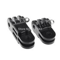 Black Universal Straight Joint Set for Gopro Adjustable Camera Hero 1 2 3 ST-16