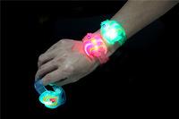LED Lighted Toys LED bracelet bracelets wristband jewelry cartoon pumpkin lighting fish Halloween Christmas gift