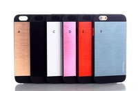 case for iphone 6 , Luxury Motomo case back cover for iPhone 6 Ultrathin Aluminum Metal Back Cases Cover protection