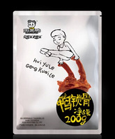 Chinese Special Snack food:leher bebek of zhou hei ya duck Duck clavicle 200g