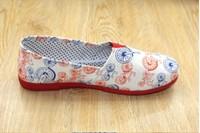 Birdthree new colorful womens flat shoes canvas espadrilles mocassim feminino alpargata canvas shoes