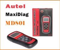 Autel MaxiDiag PRO MD801 4 in 1 Code Reader Scanner ( JP701 + EU702 + US703 + FR704 ) 100% Original Multi-functional Scan Tool