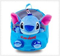2014 cute doll cartoon school backpacks for girls boys children school bags kids book bag baby mochila infantil free shipping