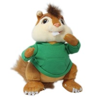 fREE SHIPPING  ALVIN AND THE CHIPMUNKS CHARACTER PLUSH STUFFED TOY 25cm THEODORE SOFT DOLL FIGURE THEODORE