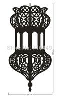 Drop shipping ebay islam design room decorative  wall art sticker 60x120cm decal
