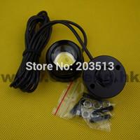 10PCS/LOT 8-30V Strobe flash High Power 6W DRL Car Led Eagle Eyes Tail Light Parking Lamp Daytime Running Lights free shipping