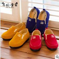 2014 autumn Korean version explosion models selling single boys  girls fashion casual canvas shoes