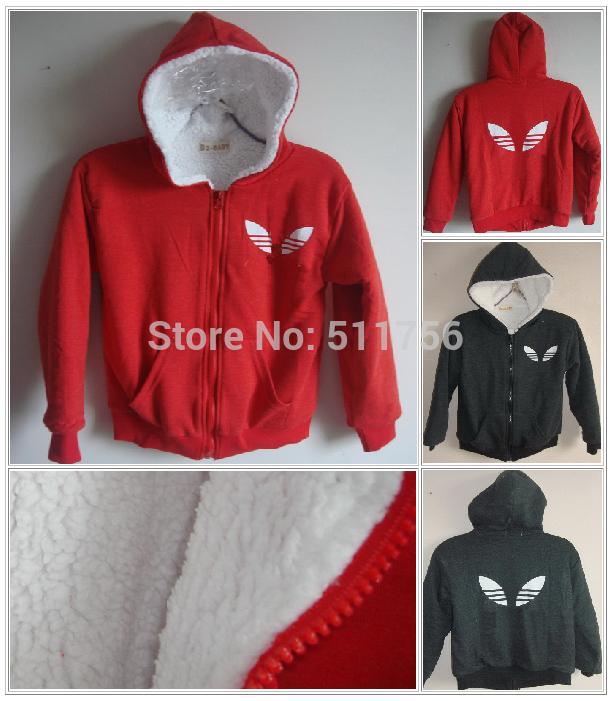 children outerwear thick wool sherpa coat baby boys fleece hoodies jacket girls Sweater autumn winter hoody warm clothing(China (Mainland))
