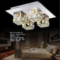 Free shipping,Beautiful design modern luxury k9 crystal led ceiling lamp