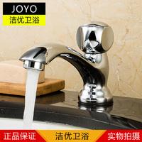 Basin single cold faucet ceramic basin wash basin faucet copper ceramic valve core