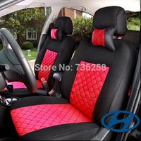 LBS 10 PCS Hyundai IX35 I30 olaris Yuet Elantra Serena ACCENT Santa  seat cover Emulation silk + sandwiches