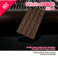 Chocolate Case for iPhone 5 5S 4 4S Tough Armor Neo Hybird SPIGEN Slim silicon Back Cover 5 Colors available