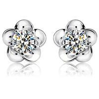 E287 earrings fashion personality silver sterling silver earring women earrings earrings silver 925 fashion earrings 2014